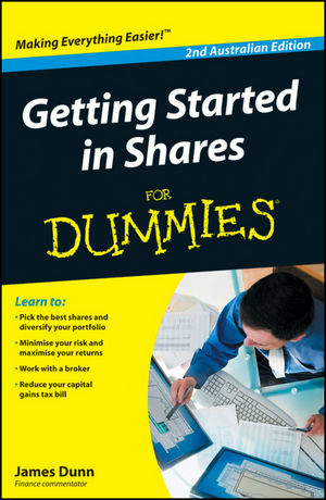 Getting Started in Shares For Dummies, 2nd Australian Edition (174246887X) cover image