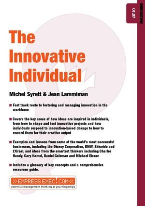 The Innovative Individual: Innovation 01.07