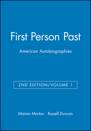 First Person Past, Volume 1, 2nd Edition