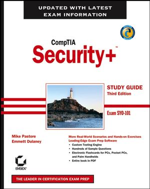 CompTIA Security+ Study Guide: Exam SY0-101, 3rd Edition (0470036680) cover image