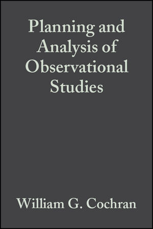 Planning and Analysis of Observational Studies (0470317280) cover image