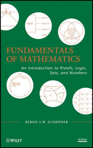 Fundamentals of Mathematics: An Introduction to Proofs, Logic, Sets, and Numbers (0470551380) cover image