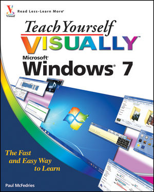 Teach Yourself VISUALLY Windows 7 (0470569980) cover image