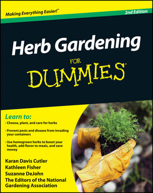 Herb Gardening For Dummies, 2nd Edition (0470617780) cover image
