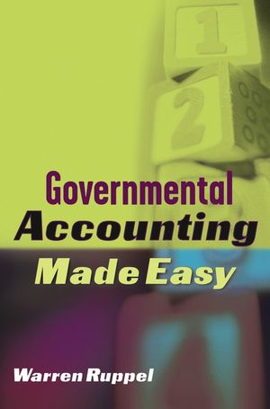 Governmental Accounting Made Easy (0471686980) cover image