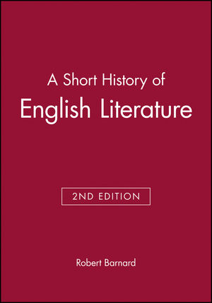 A Short History of English Literature, 2nd Edition (0631190880) cover image