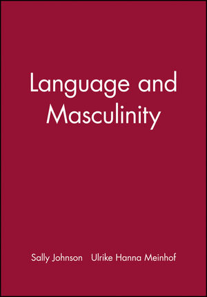 Language and Masculinity (0631197680) cover image