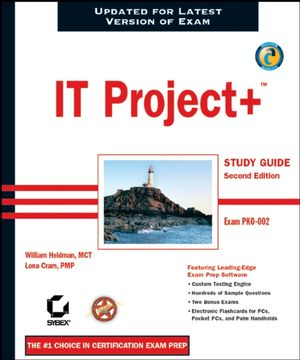 IT Project+ Study Guide: Exam PK0-002, 2nd Edition (0782143180) cover image