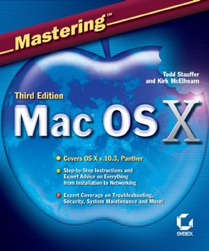 Mastering Mac OS X, 3rd Edition (0782151280) cover image