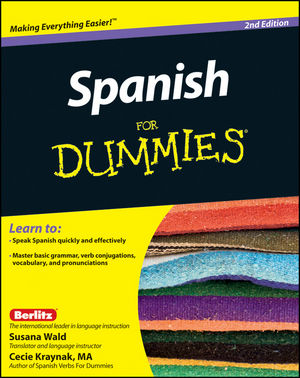Spanish For Dummies, 2nd Edition (1118007980) cover image