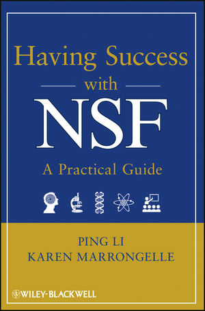 Having Success with NSF: A Practical Guide (1118013980) cover image