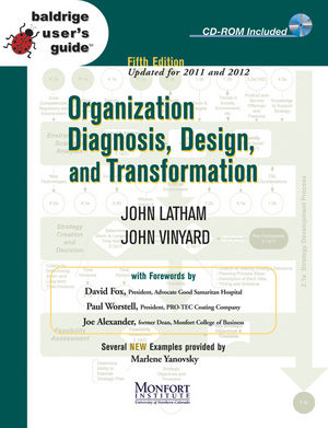 Baldrige User's Guide: Organization Diagnosis, Design, and Transformation, 5th Edition (Updated for 2011 and 2011) (1118101480) cover image