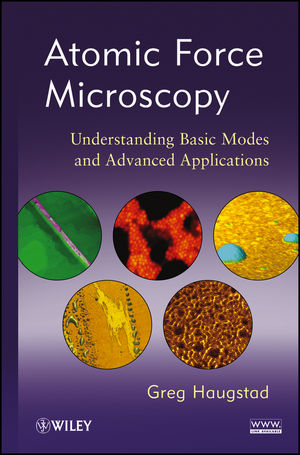 Atomic Force Microscopy: Understanding Basic Modes and Advanced Applications (1118360680) cover image