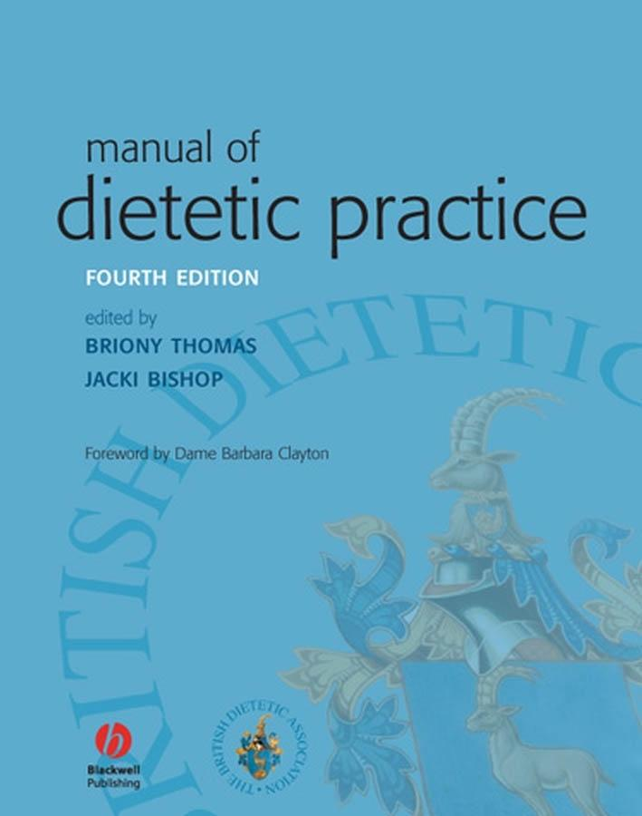 Manual of Dietetic Practice, 4th Edition