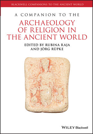 A Companion to the Archaeology of Religion in the Ancient World (1118885880) cover image