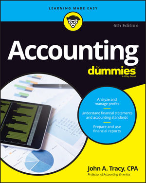 Accounting For Dummies, 6th Edition (1119245680) cover image