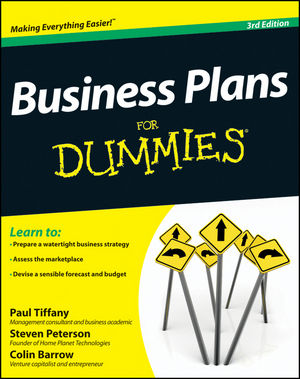 Business Plans For Dummies, 3rd Edition