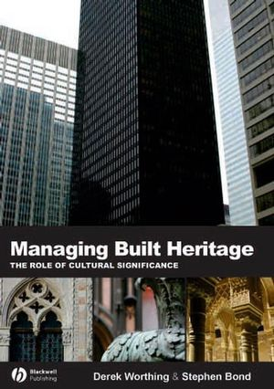 Managing Built Heritage (1405119780) cover image