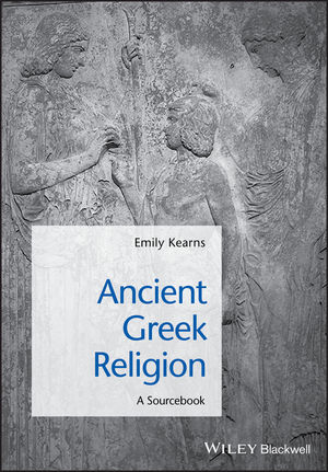 Ancient Greek Religion: A Sourcebook (1405149280) cover image