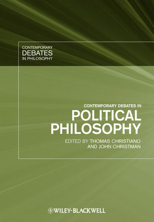 Contemporary Debates in Political Philosophy (1444310380) cover image