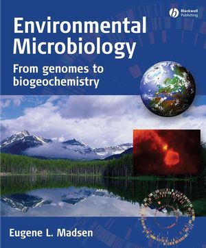 Environmental Microbiology: From Genomes to Biogeochemistry (1444357980) cover image