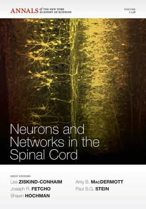 Neurons and Networks in the Spinal Cord, Volume 1198