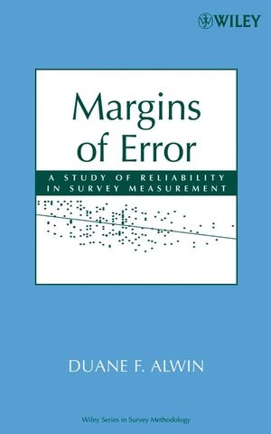 Margins of Error: A Study of Reliability in Survey Measurement (0470081481) cover image