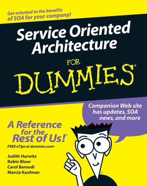 Service Oriented Architecture For Dummies Cover Image
