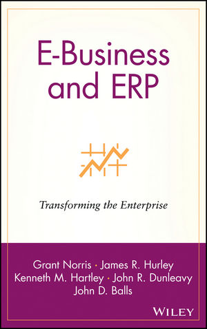 E-Business and ERP: Transforming the Enterprise (0471392081) cover image