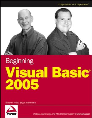 Beginning Visual Basic 2005 (0471749281) cover image