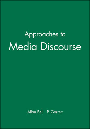 Approaches to Media Discourse (0631198881) cover image