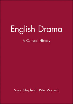 English Drama: A Cultural History (0631199381) cover image