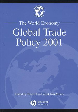 The World Economy, Global Trade Policy 2001 (0631231781) cover image