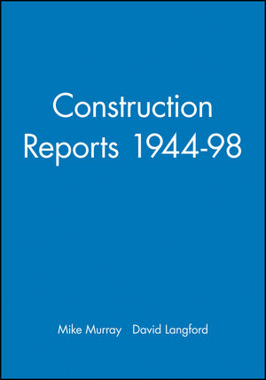 Construction Reports 1944-98