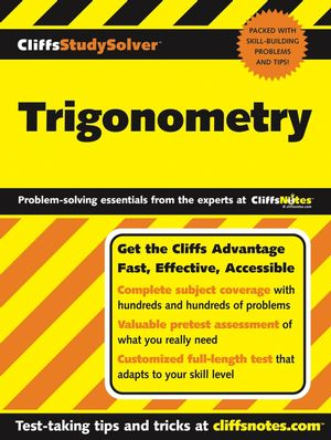 CliffsStudySolver Trigonometry (0764579681) cover image