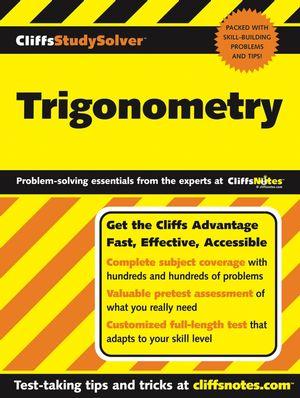 CliffsStudySolver Trigonometry (0764579681) cover image