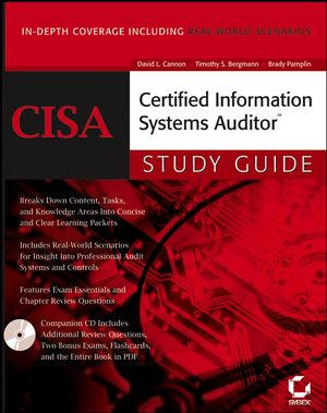 CISA: Certified Information Systems Auditor Study Guide (0782144381) cover image