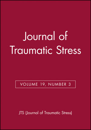 Journal of Traumatic Stress, Volume 19, Number 3 (0787988081) cover image