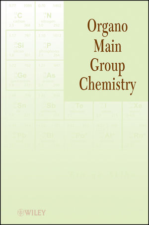 Organo Main Group Chemistry (1118025881) cover image