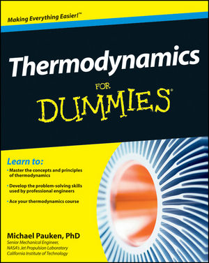 Thermodynamics For Dummies (1118120981) cover image