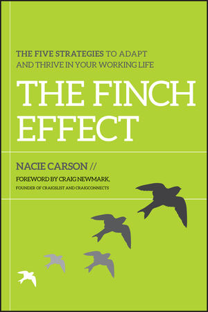 The Finch Effect: The Five Strategies to Adapt and Thrive in Your Working Life (1118134281) cover image