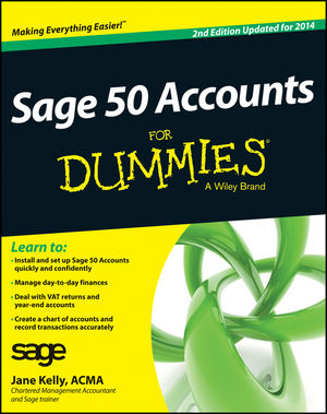 Sage 50 Accounts For Dummies, 2nd Edition (1118308581) cover image