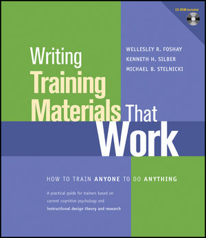 Writing Training Materials That Work: How to Train Anyone to Do Anything (1118351681) cover image