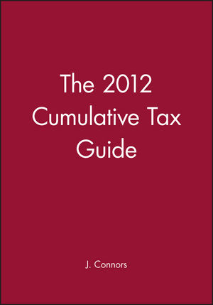 The 2012 Cumulative Tax Guide (1118407881) cover image