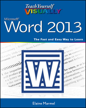 Teach Yourself VISUALLY Word 2013 (1118539281) cover image