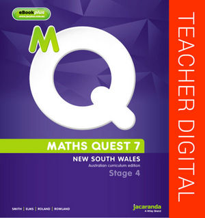 Maths Quest 7 for New South Wales Australian Curriculum Edition eBookGuide (Online Purchase)