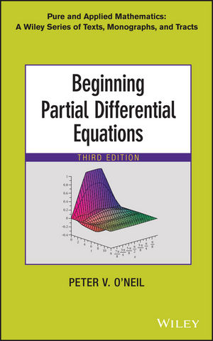 Beginning Partial Differential Equations, 3rd Edition (1118629981) cover image