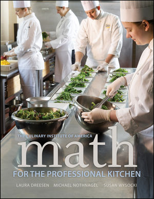 Math for the Professional Kitchen (1118692381) cover image