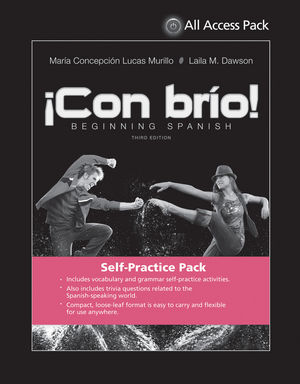 Con brío: Beginning Spanish, 3e All Access Pack (Print Component)