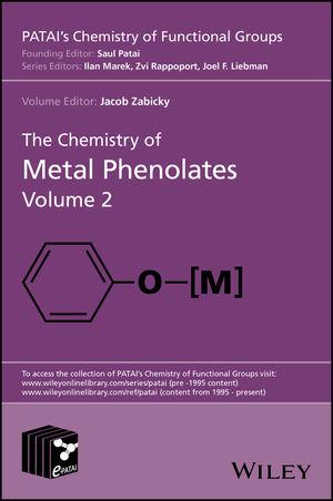 The Chemistry of Metal Phenolates, Volume 2 (1119083281) cover image